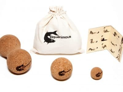 Set of 3 Cork Massage Balls