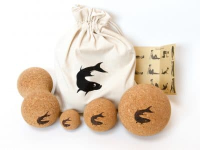 Set of 4 Cork Massage Balls